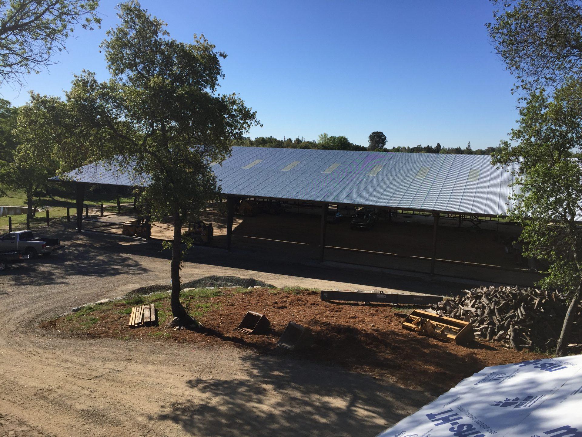 bâtiment élevage solaire