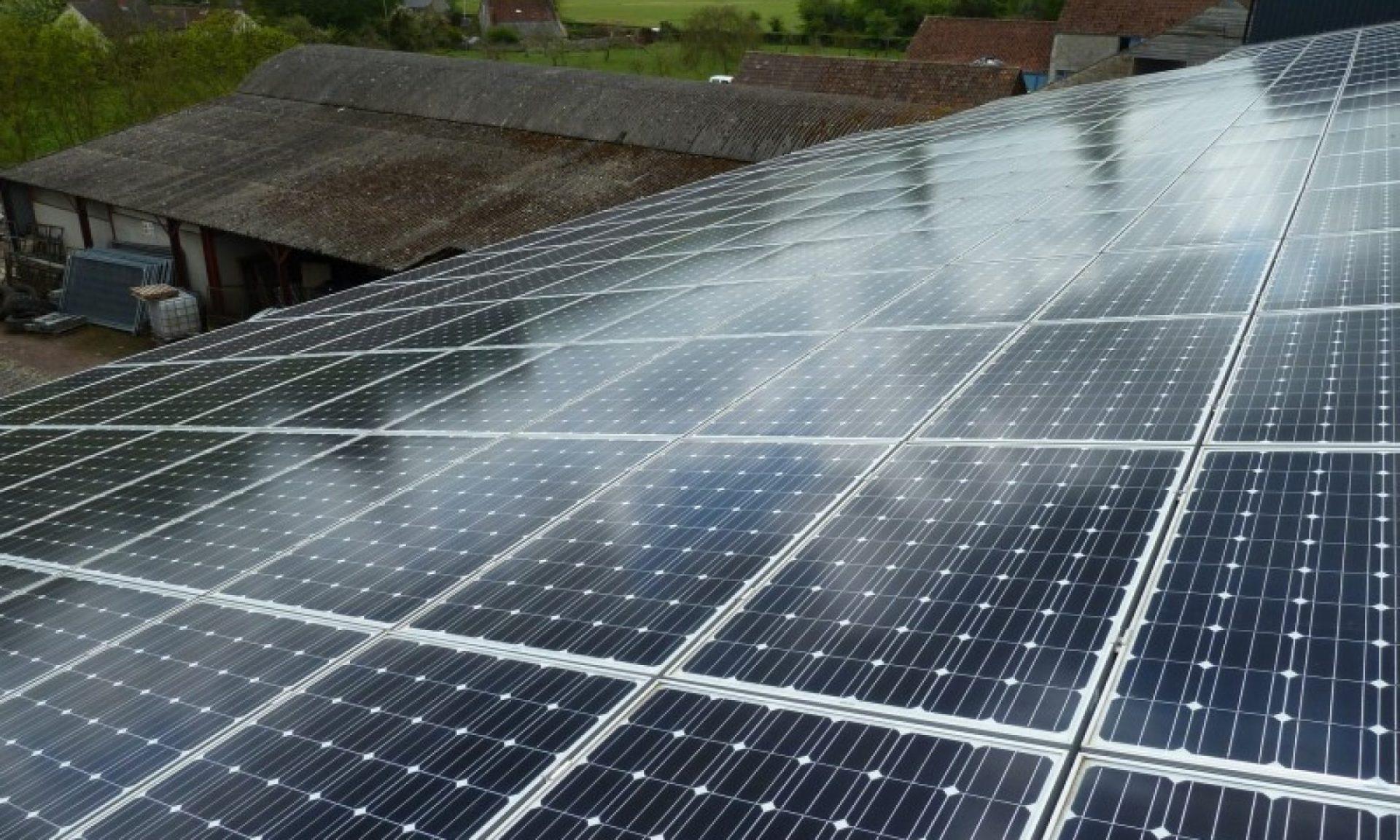 Bâtiment photovoltaïque gratuit