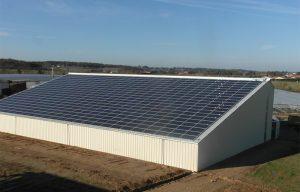 Stabulation photovoltaïque gratuite 44660 Rouge