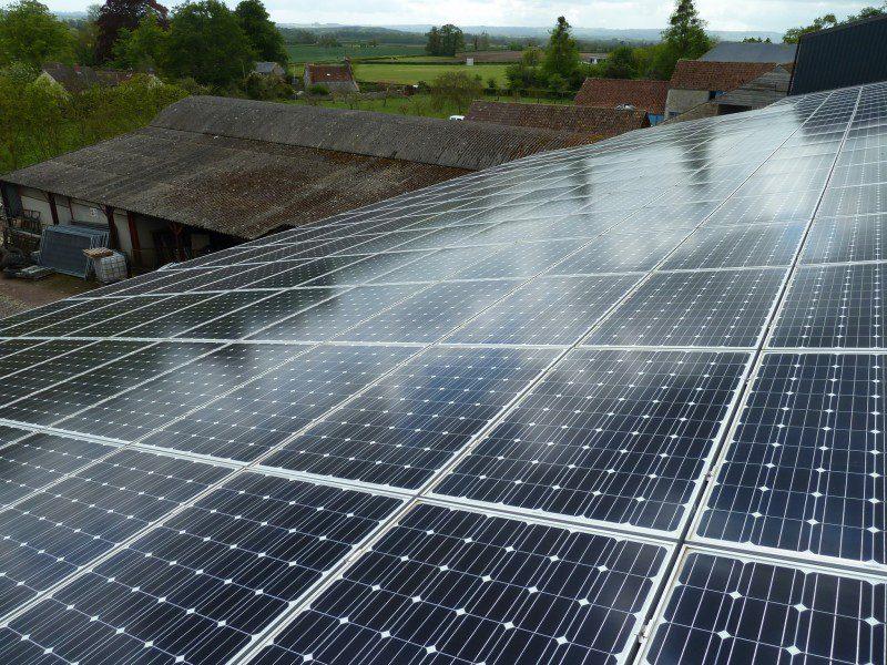 toiture batiment photovoltaique - Bâtiment Gratuit